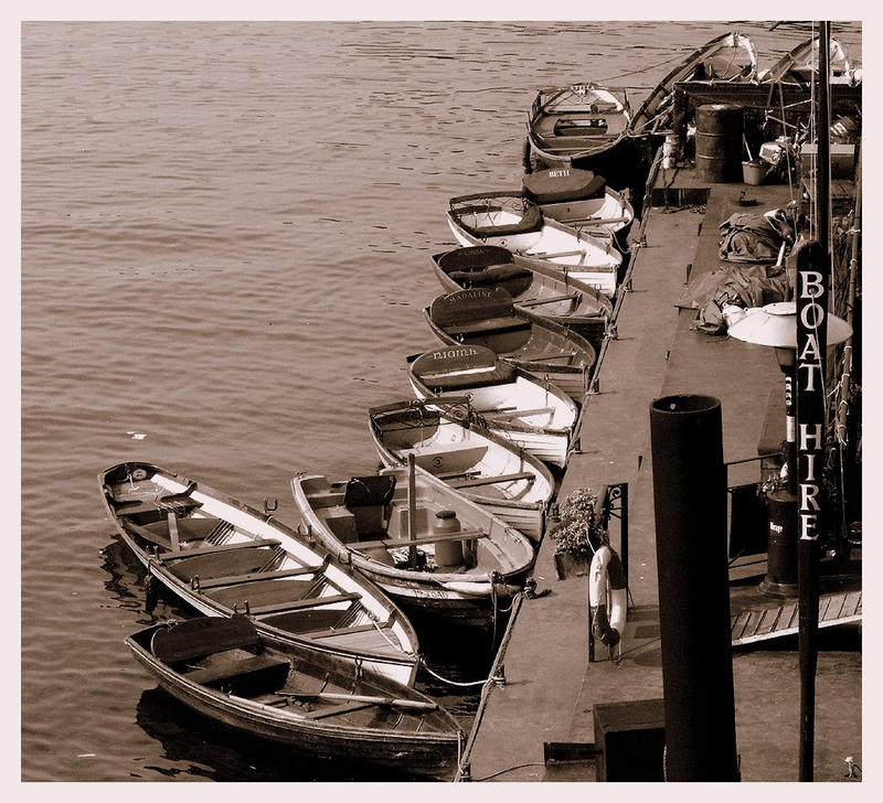 Boat Hire by Mariposita1