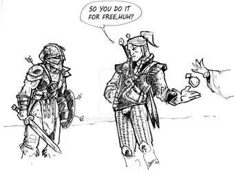 Witcher vs Dragonborn