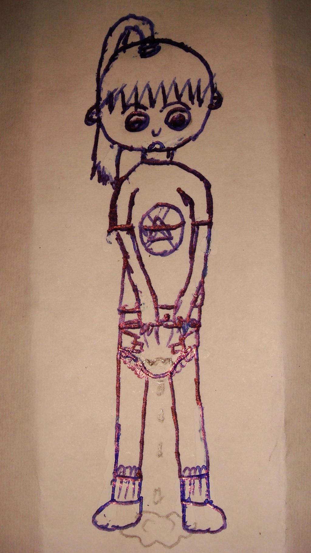 DefaultDrawings Diaper Teen Anime Girl Drawings 10 By