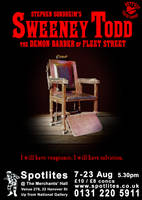 Sweeney Todd Poster by tomrollo