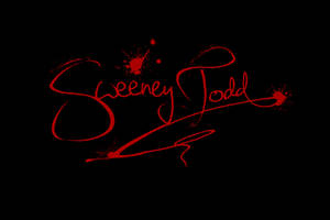 Sweeney Todd's Signature by tomrollo