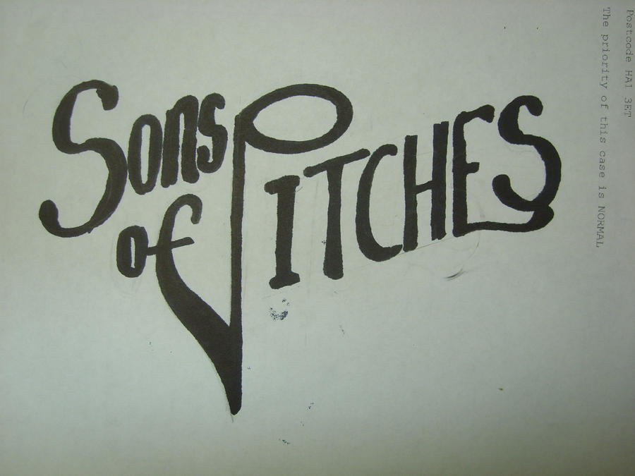 Sons of Pitches logo 2 by tomrollo