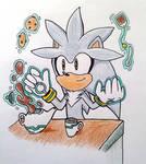 Silver making Tea