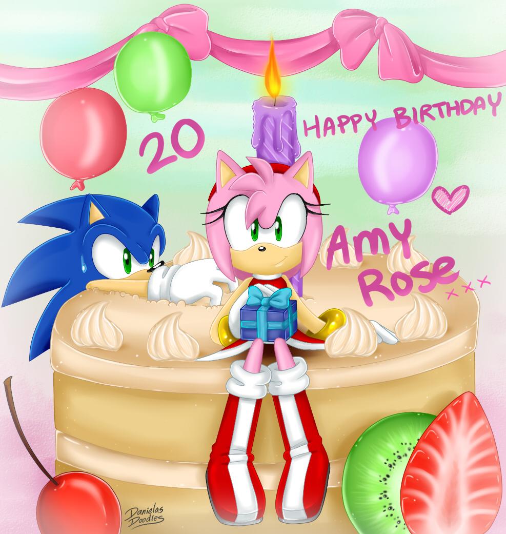 Happy 20th Birthday AMY! By DanielasDoodles On DeviantArt