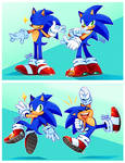 A bunch of Sonic's