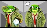 Detective Vector Gumshoe