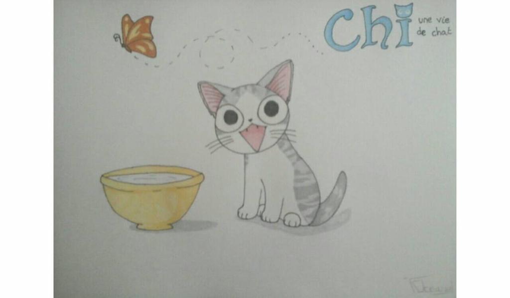 Dessin concour chi une vie de chat by chumy56400 on deviantart - Dessin de chi ...