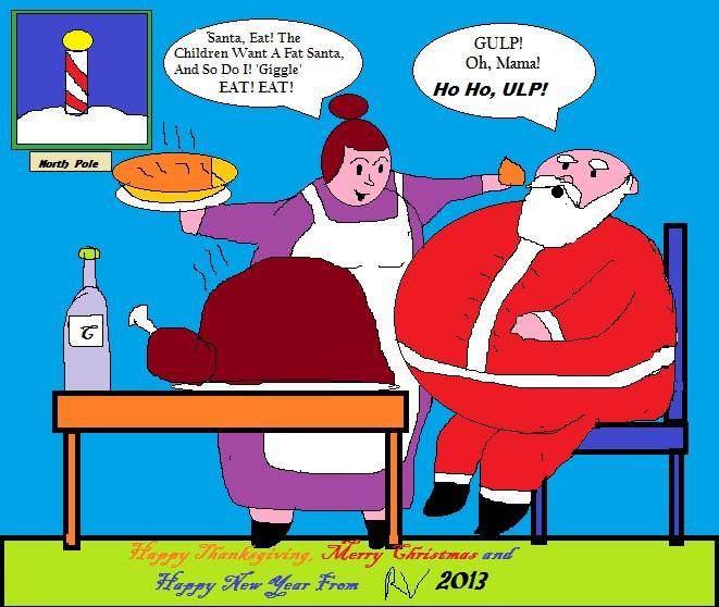 Santa Is A Fat 121