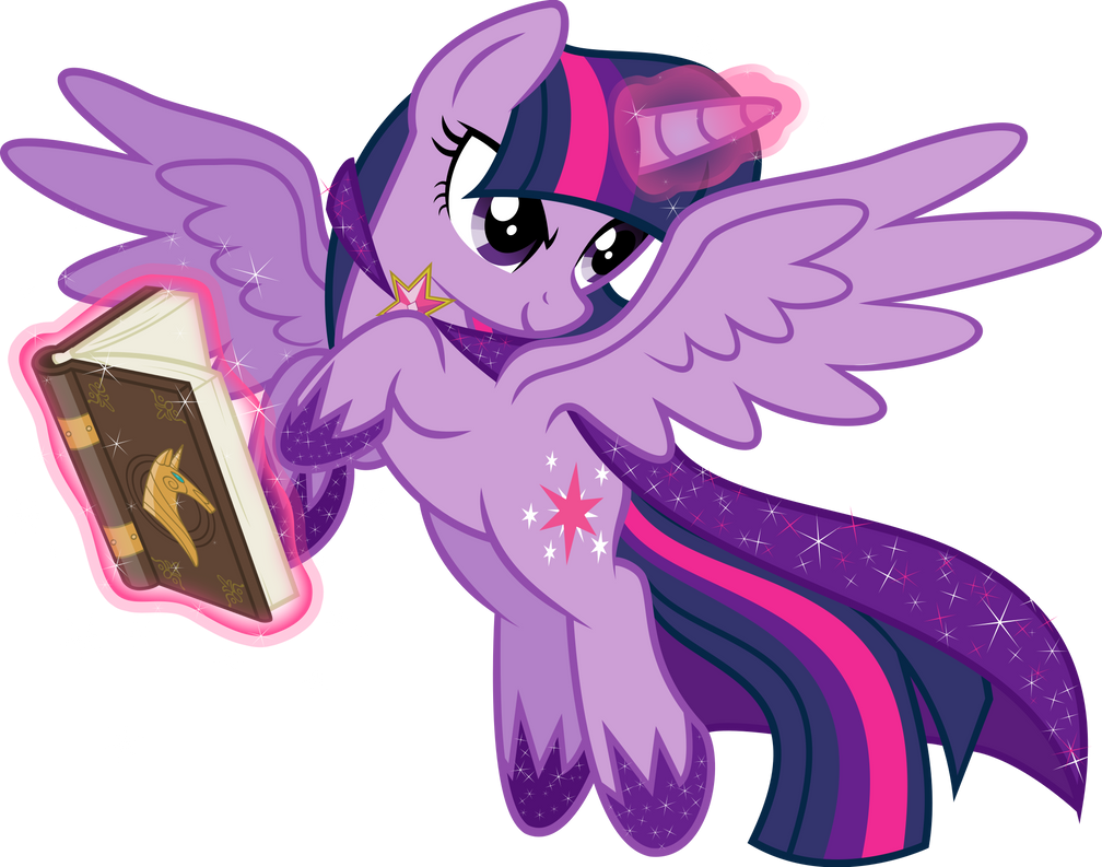 My Little Pony Princess Twilight Sparkle Flying
