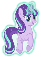 Starlight Glimmer levitates herself by Osipush