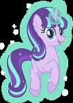 Starlight Glimmer levitates herself