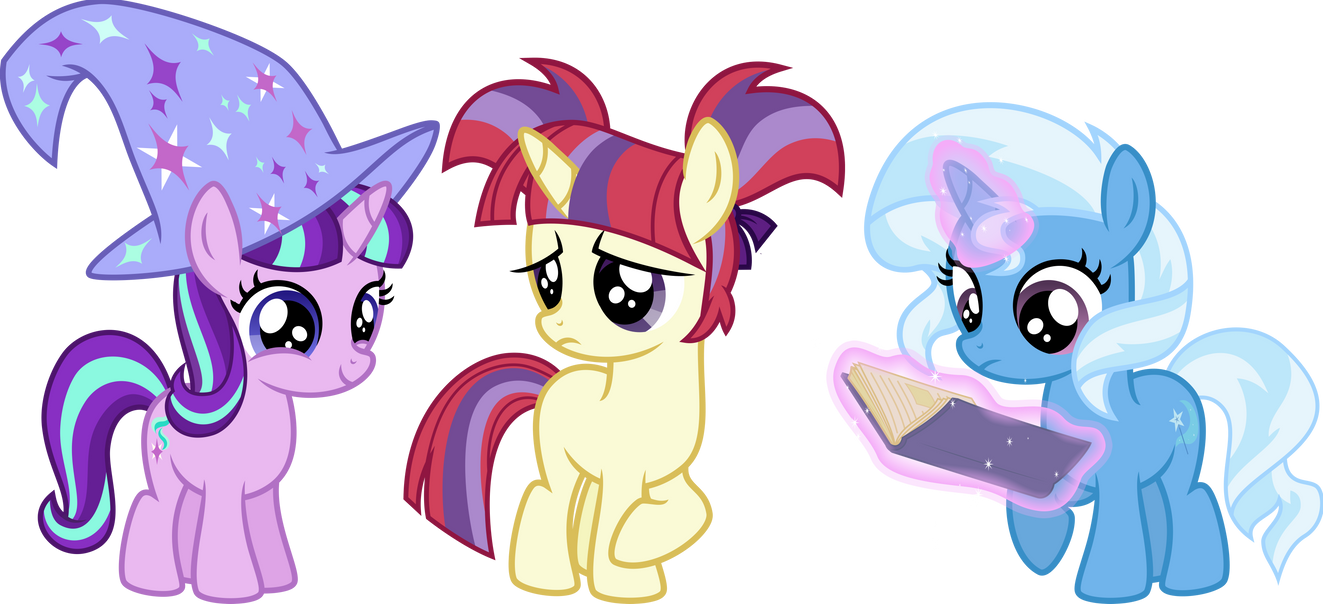 AU Filly Ponies by Osipush