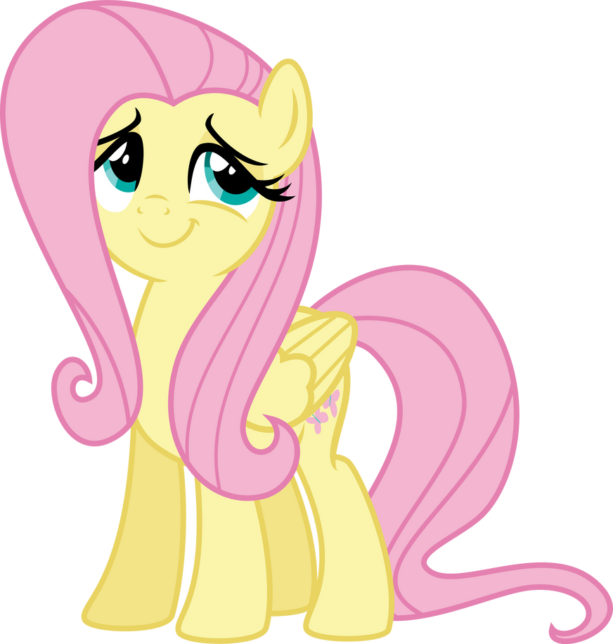 Fluttershy is happy fo...