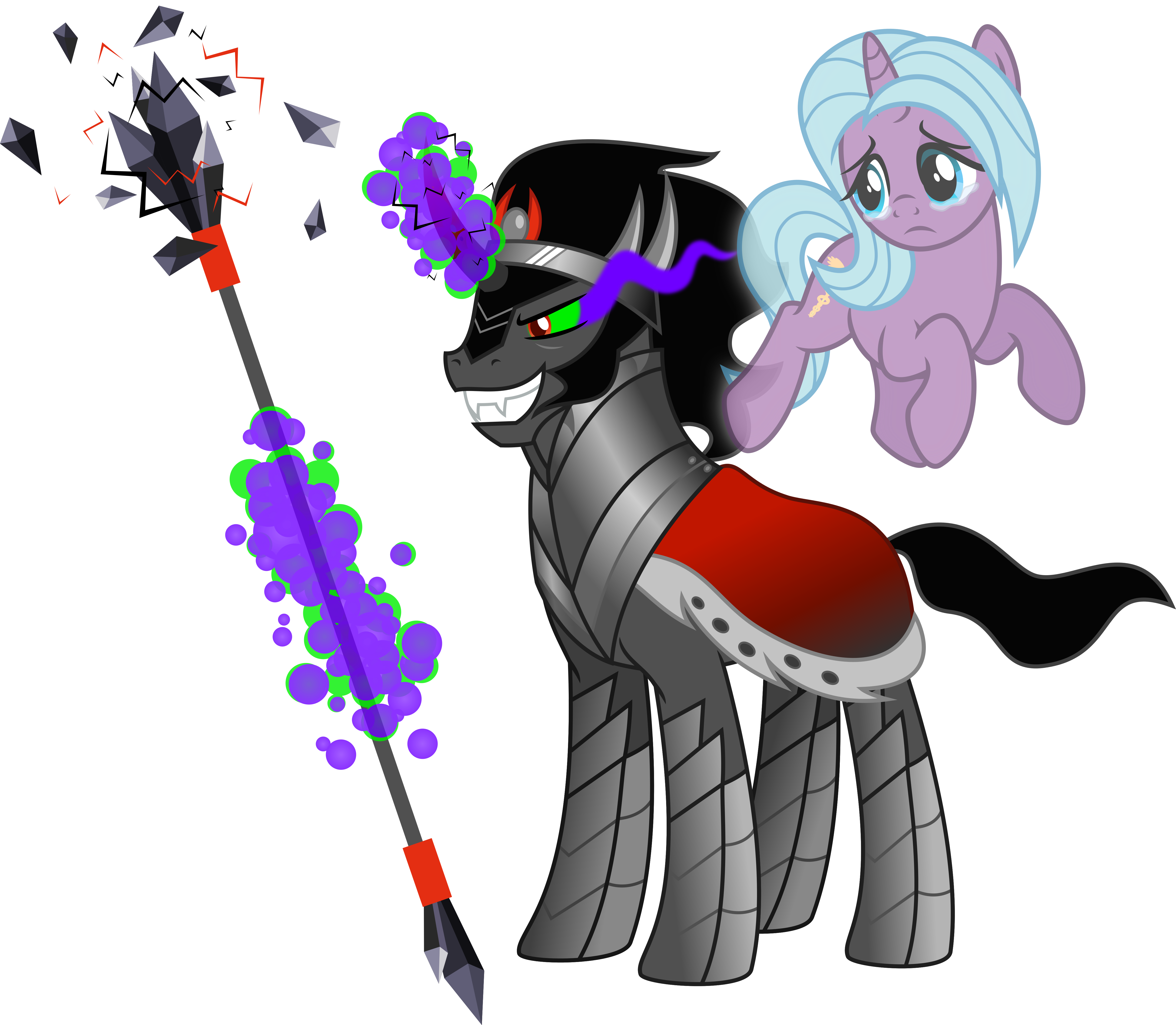 PoFM King Sombra And Hope By Osipush On DeviantArt