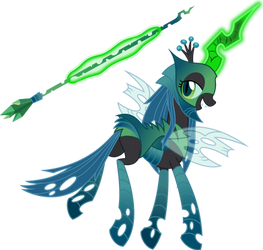 PoFM Queen Chrysalis by Osipush