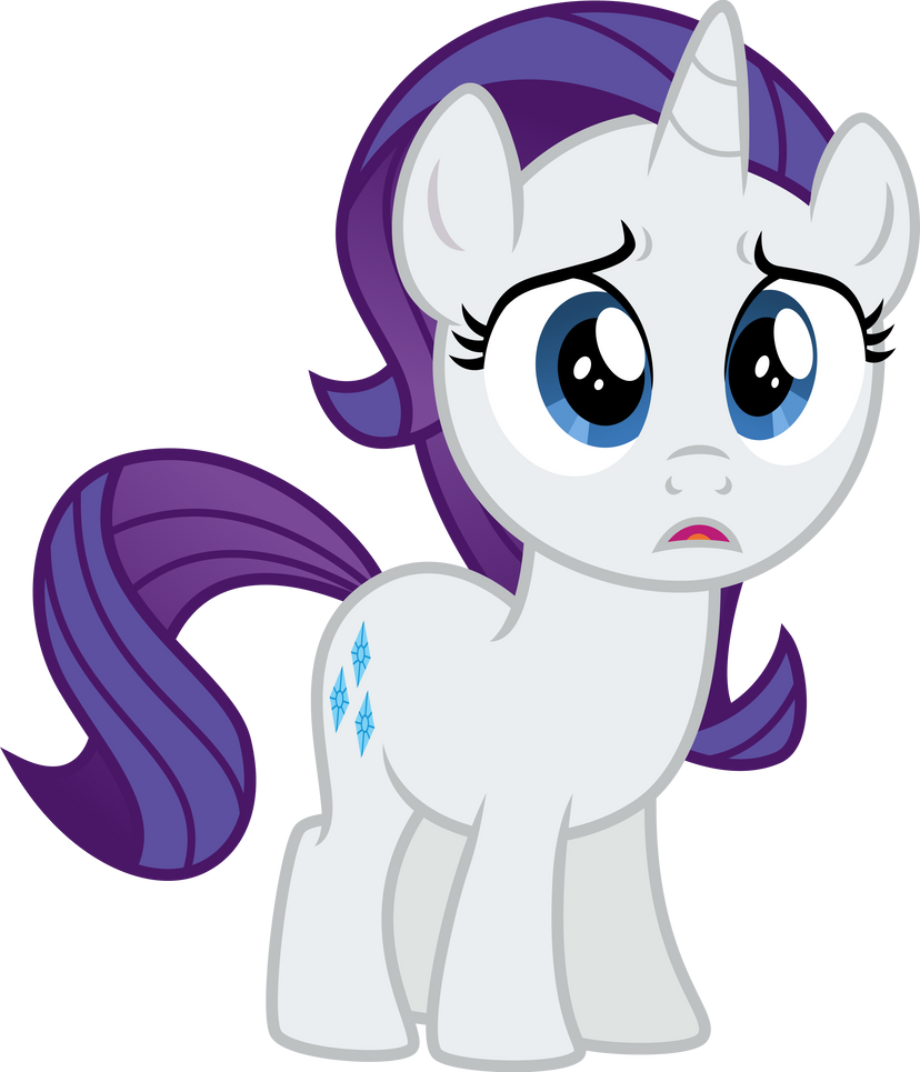 My little pony filly rarity - photo#17