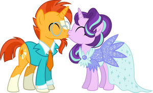 Sunburst and Starlight are getting married (COM)