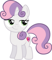 Smug Sweetie Belle by Osipush