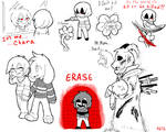 Undertale - Chara and Asriel