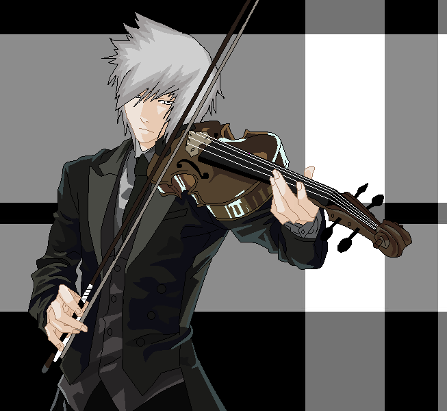 Anime Human Slender Man