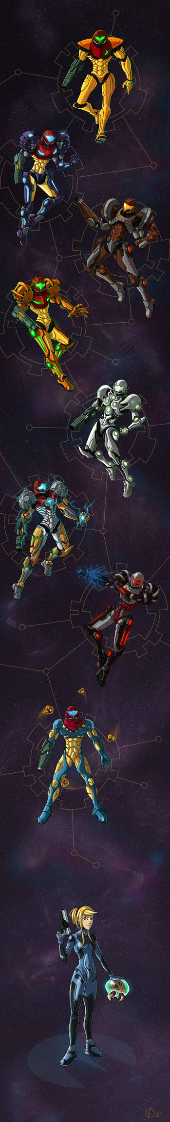 Metroid : Armored Heart