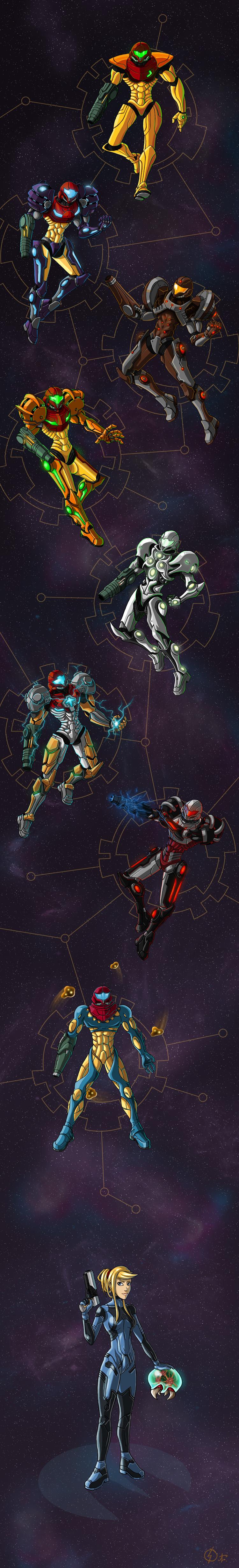 Metroid : Armored Heart by Arrarra