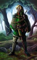 Zelda redesign : Kokiri Cape by Arrarra