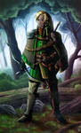 Zelda redesign : Kokiri Cape
