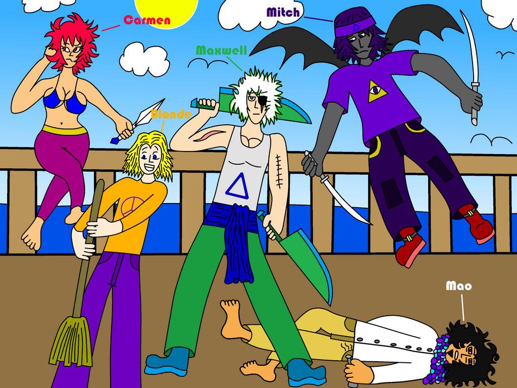 The Bloodrain Pirates