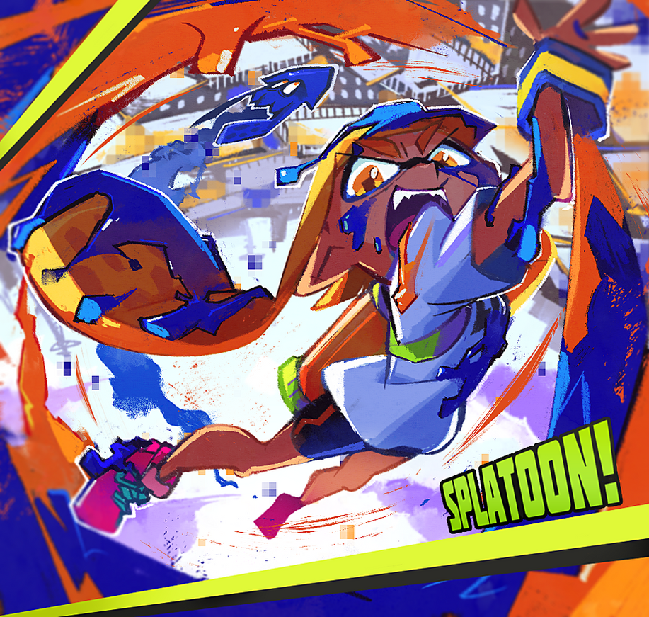 splatoon! by hakkasm