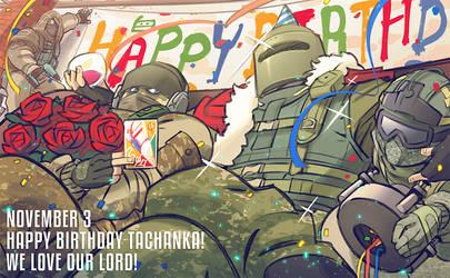 Happy Birthday Lord by hakkasm