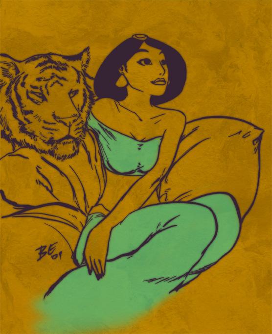 Jasmine by bureiku