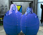 Blueberry Duo: Torrie and Stacy