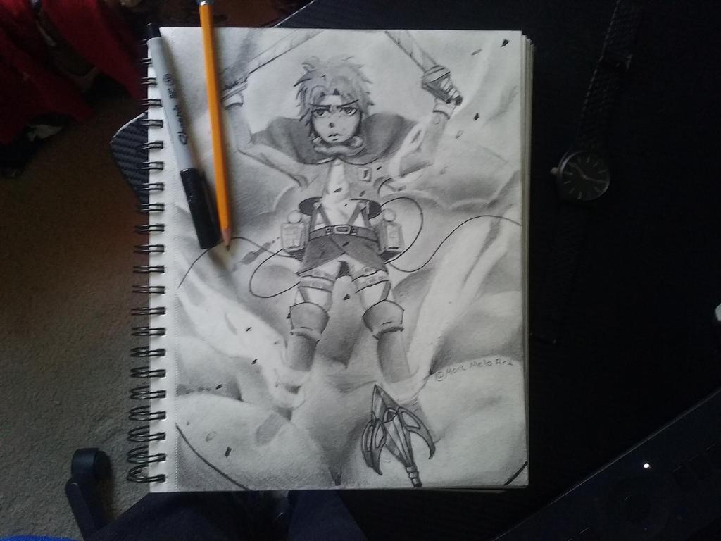 Eren Jaeger the titan slayer by mildprince