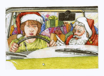 Rupert Grint Christmas Lessons by lillywmw