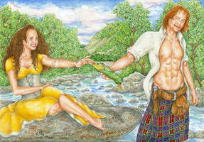 Outlander: I will go bounding by lillywmw
