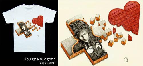 Ed Sheeran Lego Heart by lillywmw