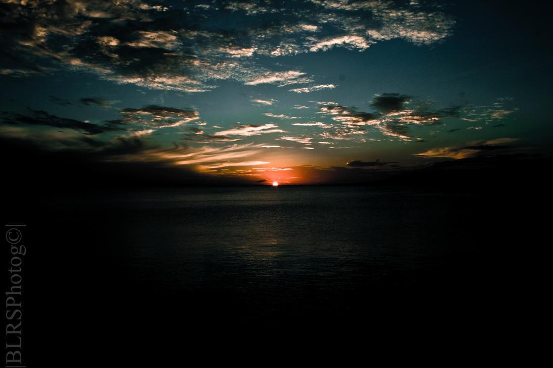 sunset by eeschabeche