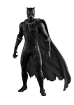 Black Panther With Cape