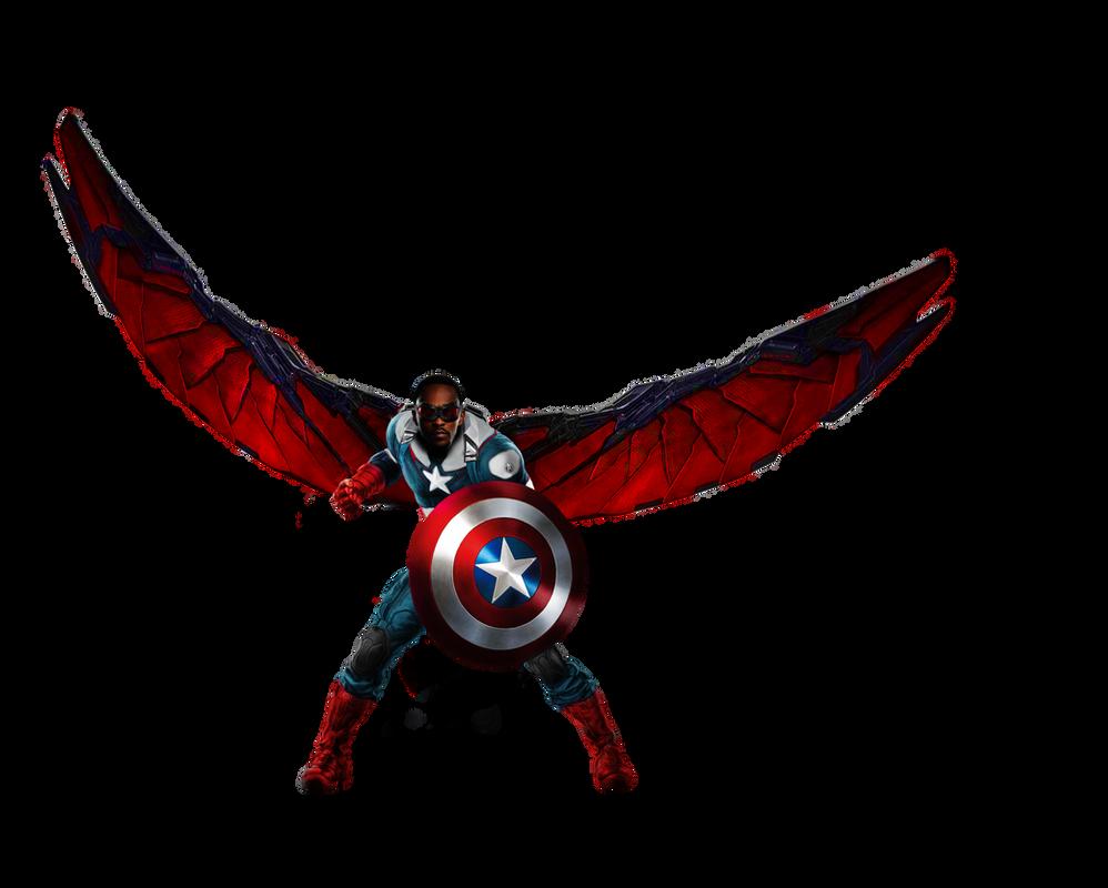 Falcon Captain America by HB-Transparent on DeviantArt