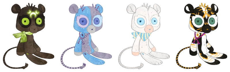 Winter Holiday Canopy Plushies Batch 1