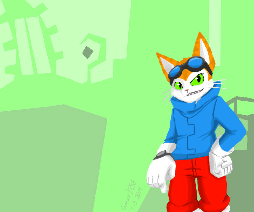 Blinx the Time Sweeper by Gamer1858