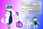 Mitzi Reference Sheet ( Art Commission )