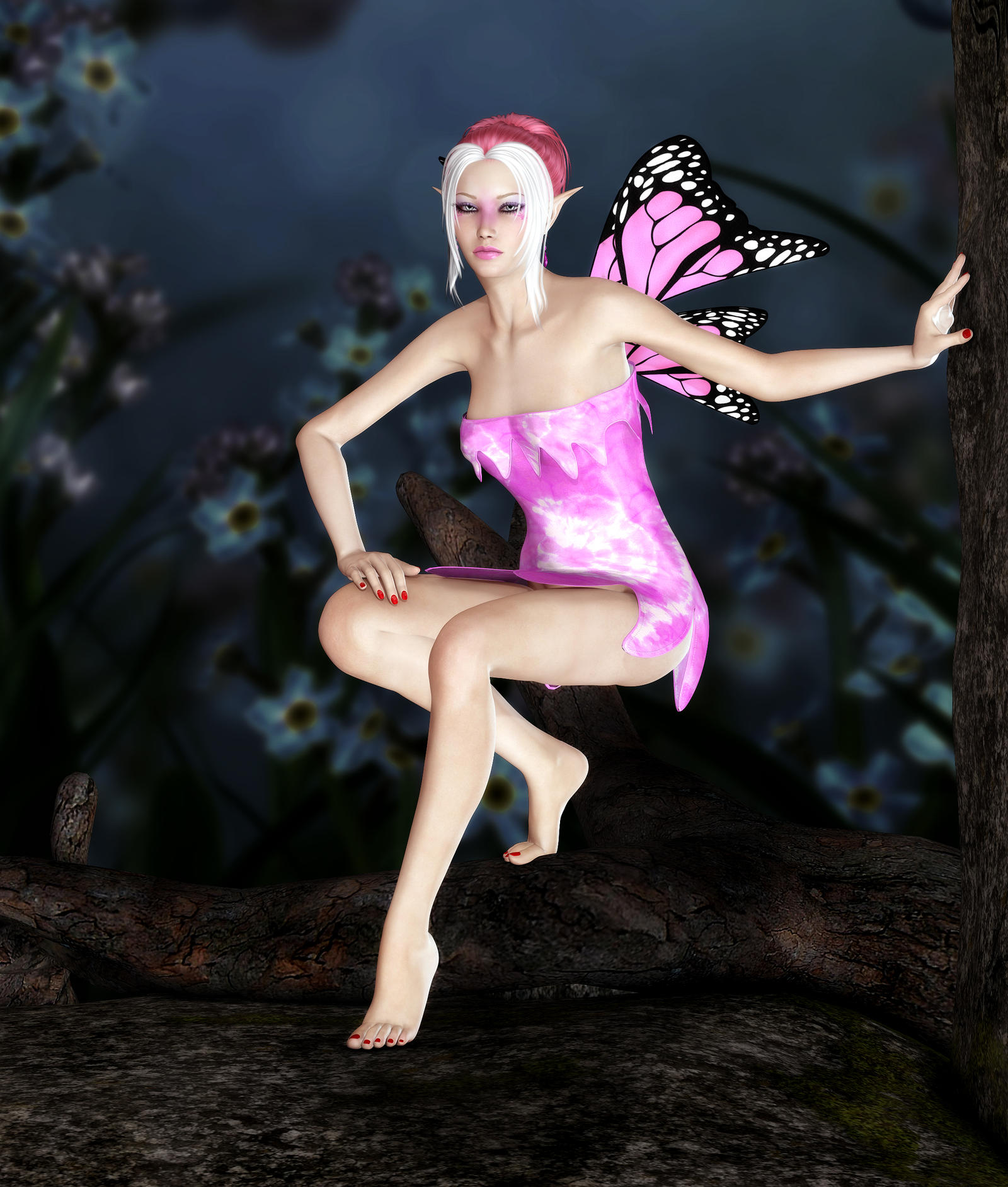 Pink Fairy by Kaleya