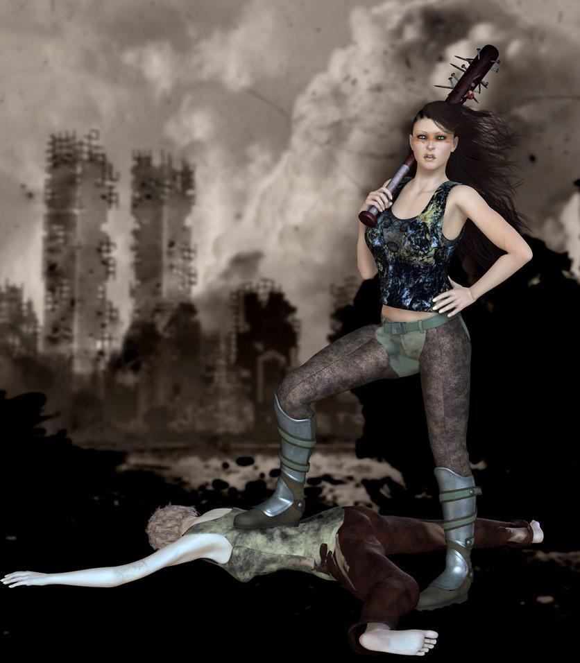 Zombie Slayer by Kaleya