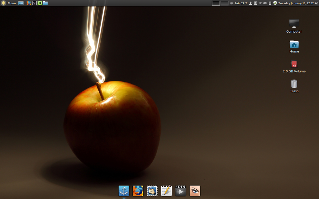 First Screen Shot in Cinnamon Linux by ivanymathias