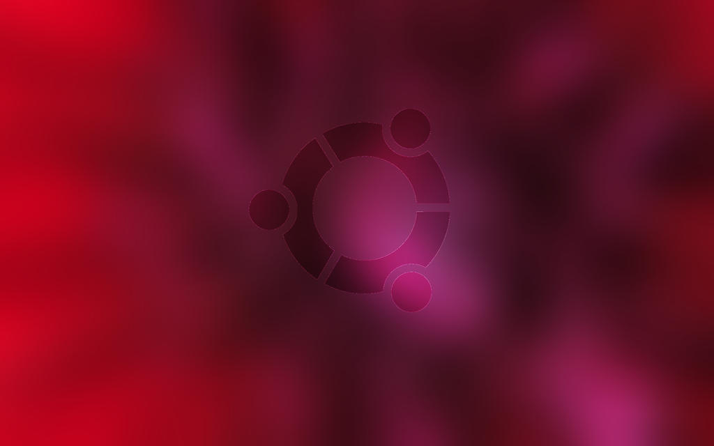 Ubuntu Wall Purple by ivanymathias