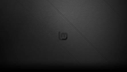 Black Leather LinuxMint Wallpaper