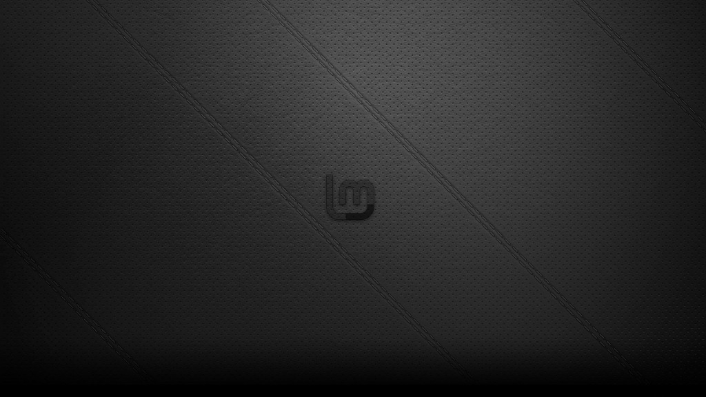 Black Leather LinuxMint Wallpaper by ivanymathias