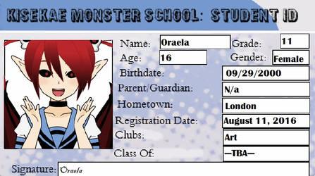 KMS - Oraela Student Id